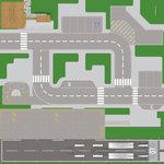 Speelmat voor verschillende LEGO sets City