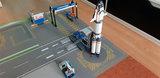 SSpielmatte  für LEGO 60229 space Mars op een speelmat -02
