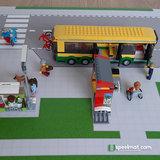 Lego set 60154 Bushalte met kiosk